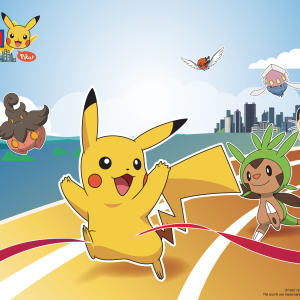 Pokémon Run 2016 (Hong Kong – 5 km Challenge)