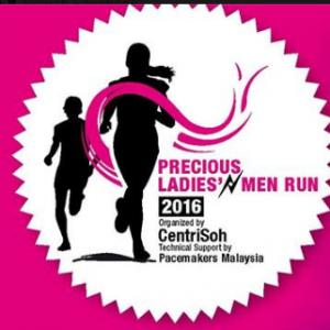 Precious Ladies' N Men Run 2016