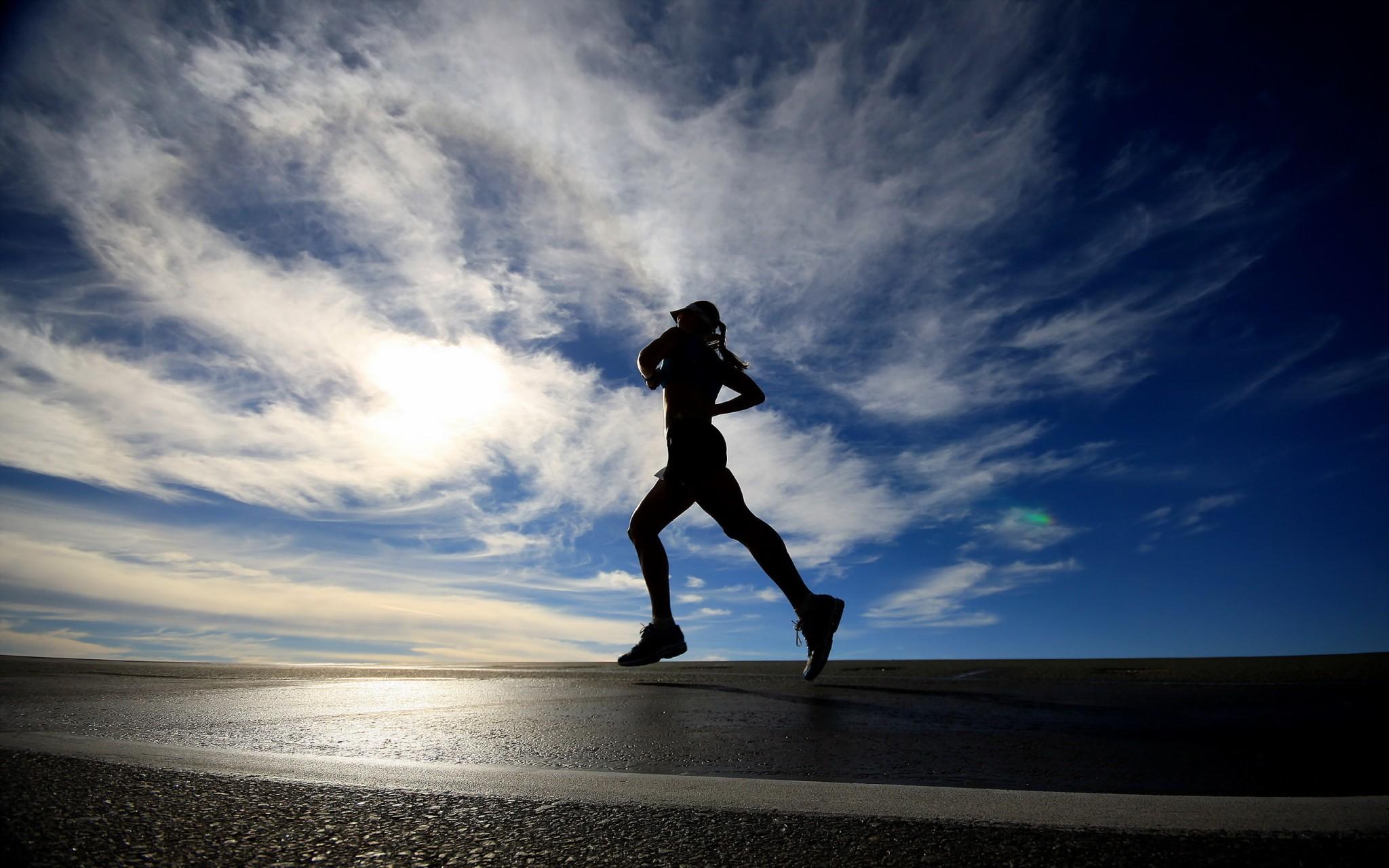 Sport Running Wallpaper Hd: The Running Word Cloud: A 2-minute Game For Runners
