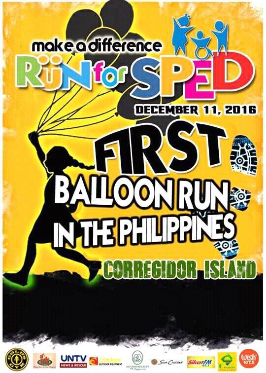 1st Balloon Run For SPED 2016