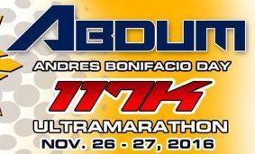 Andres Bonifacio Day Ultra Marathon 2016