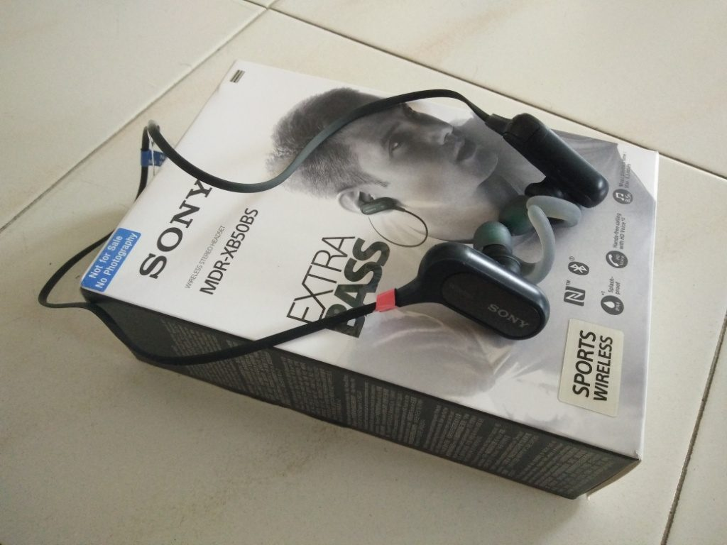Gear Review: Sony Extra Bass Sports Bluetooth In-Ear MDRXB50BS Headphone