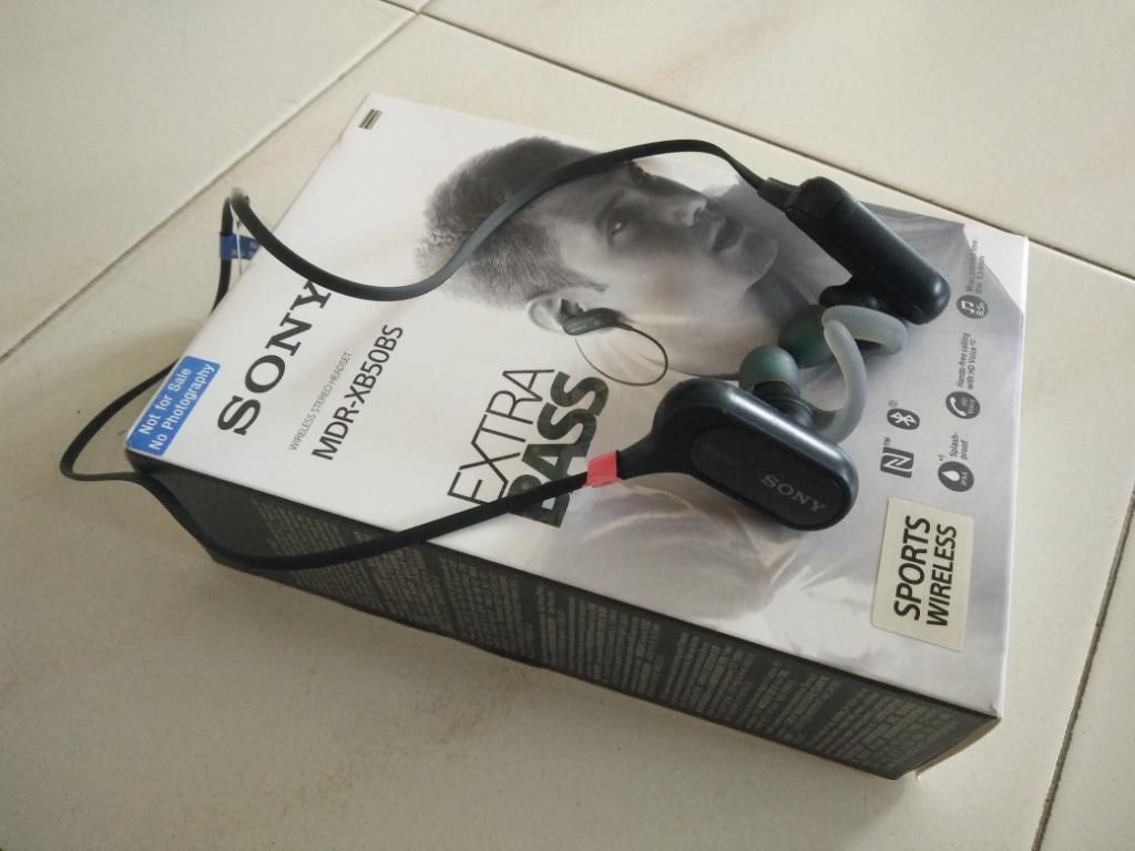 8e5e33ec37b Gear Review: Sony Extra Bass Sports Bluetooth In-Ear MDRXB50BS Headphone