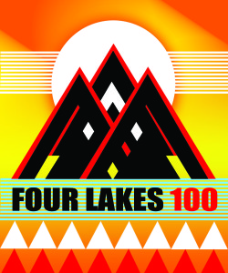 Four Lakes 100K 2017