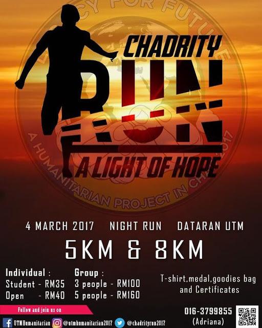 Chadrity Run 2017: A Light of Hope