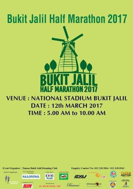 Bukit Jalil Half Marathon 2017