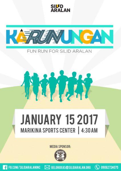 KaRUNungan: Fun Run for Silid Aralan 2017