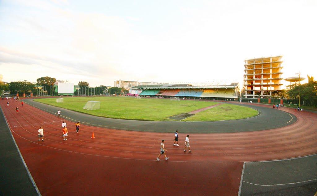 Marikina sports centre just run lah Marikina sports center swimming pool