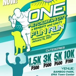 One Meycauayan Fun Run 2017