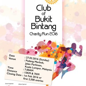 RCBB Rotary Club of Bukit Bintang Charity Run 2017