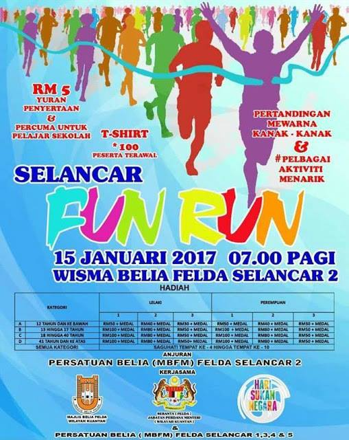Selancar Fun Run 2017