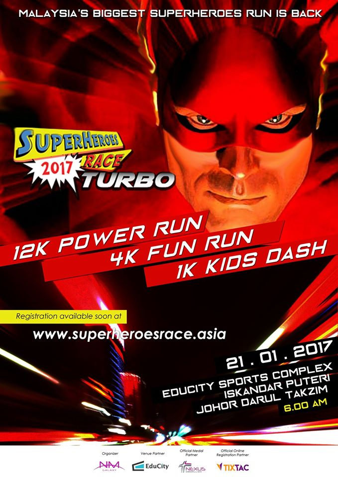 Superheroes Race™ TURBO 2017
