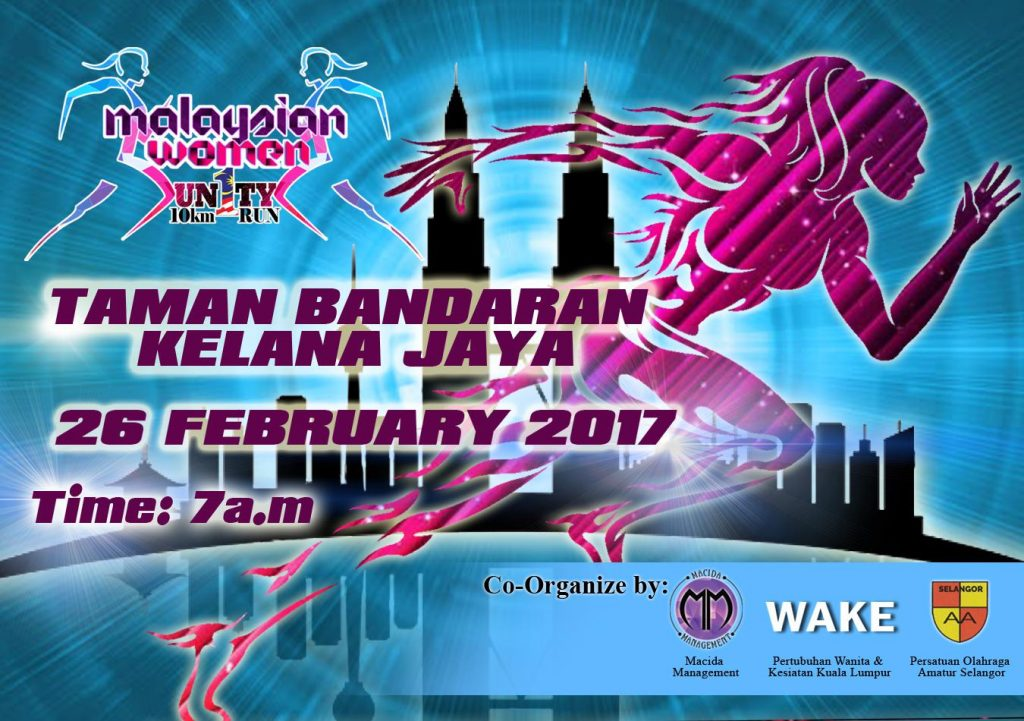Malaysian Women Unity 10KM Run 2017