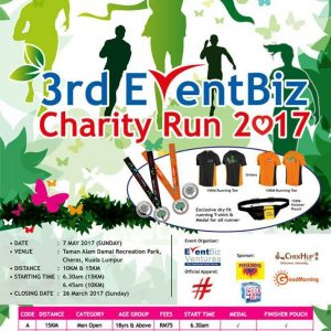 3rd EventBiz Charity Run 2017