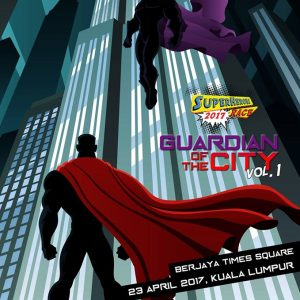 Superheroes Race™ | Guardian of the City Vol. 1 2017