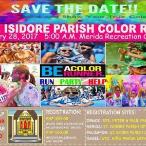 St. Isidore Parish Color Run 2017