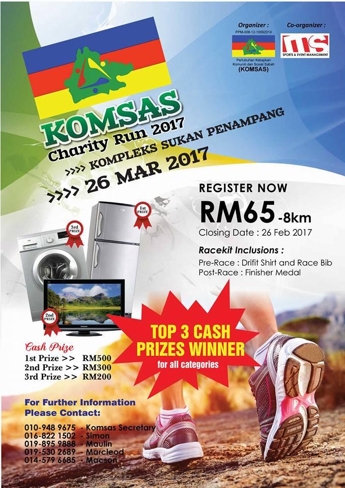 Komsas Charity Run 2017