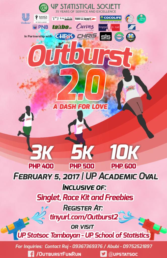Outburst 2.0 A Dash for Love – Manila 2017