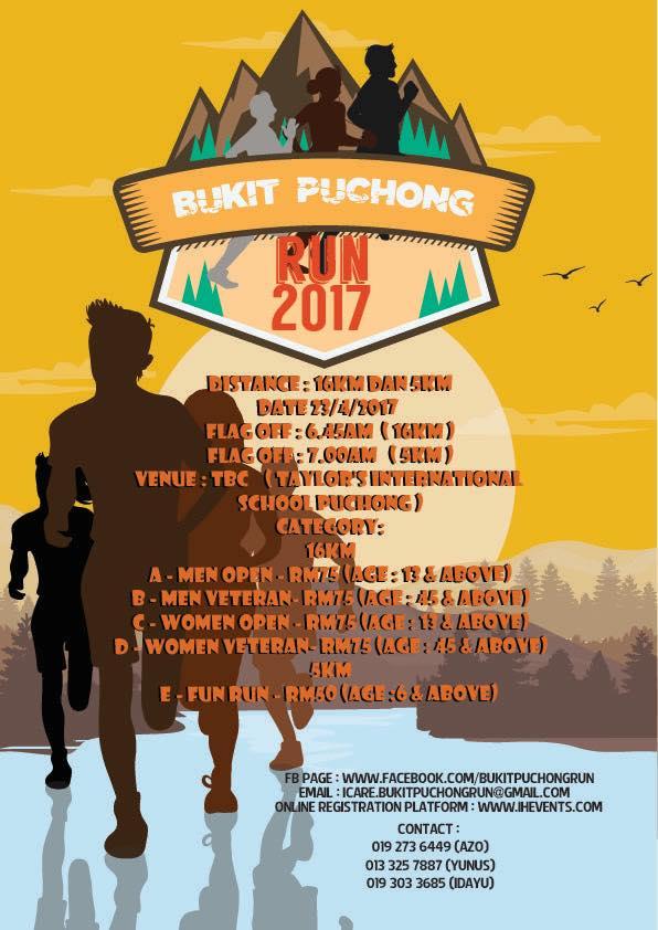 Bukit Puchong Run 2017
