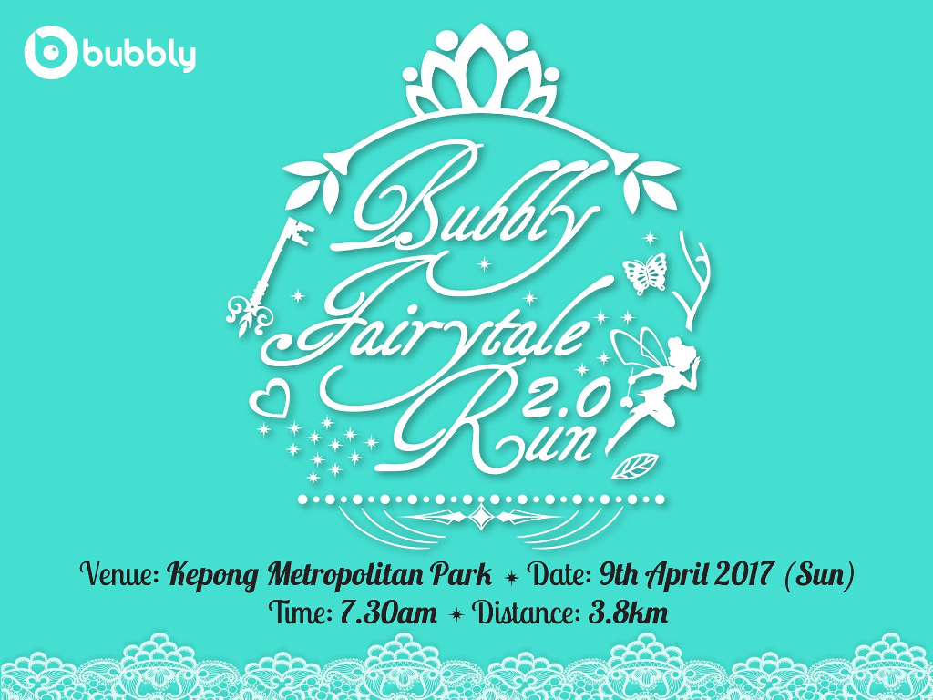 Bubbly Fairytale Run 2.0 2017