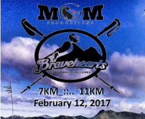 Bravehearts Trail Run 2017