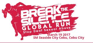 Break the Silence Global Run and Festival 2017