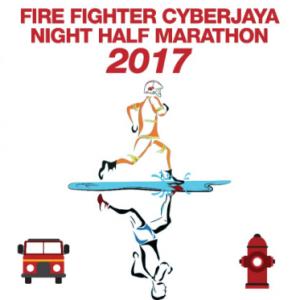 Fire Fighter Cyberjaya Night Half Marathon 2017