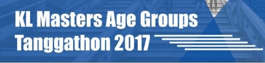 KL Masters Age Groups Tanggathon 2017