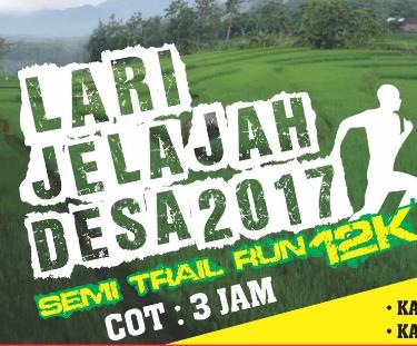 Lari Jelajah Desa 2017