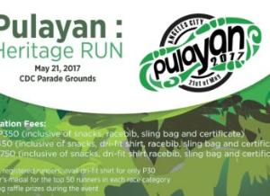 PULAYAN: Heritage RUN 2017