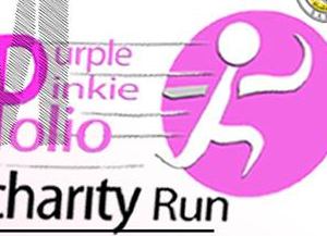 Purple Pinky Polio Charity Run 2017