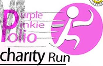 Purple Pinky Polio Charity Run 2017