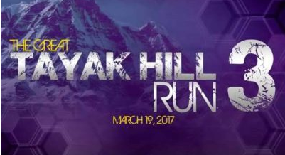 The Great Tayak Hill Run 3 2017