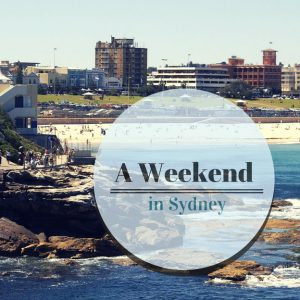 A Weekend in Sydney
