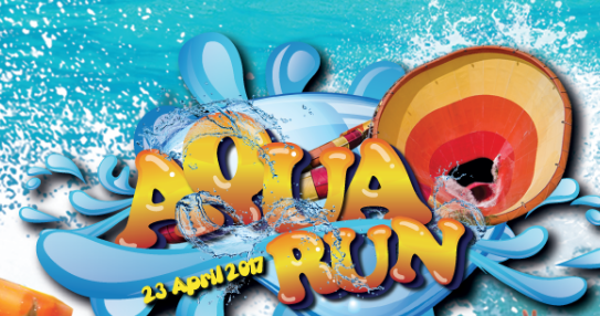 Sunway Lagoon's Aqua Run 2017
