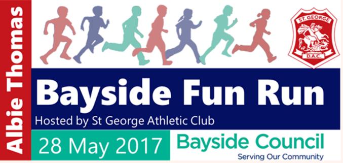 Albie Thomas Bayside Fun Run 2017