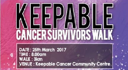 KeepAble Cancer Walk 2017