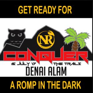 Conquer the Trails @ Denai Alam Night Trail Run 2017