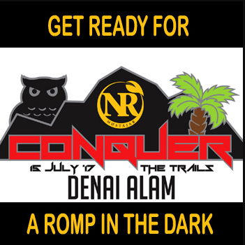 Conquer the Trails @ Denai Alam Night Trail Run 2017