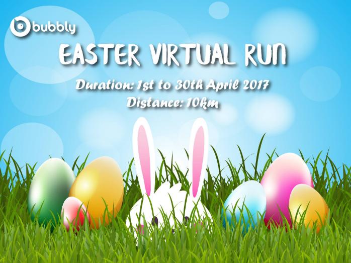 Easter Virtual Run 2017