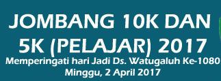 Jombang 10K & 5K Pelajar 2017
