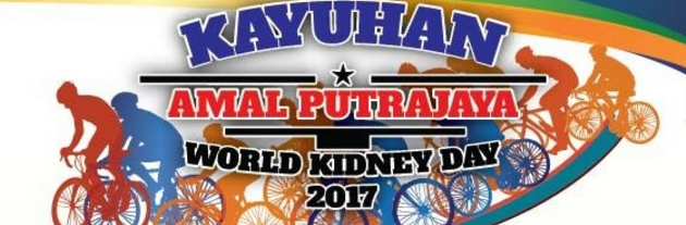 Kayuhan Amal Putrajaya World Kidney Day 2017