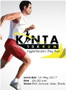 Kinta 10K Hypertension Day Run 2017