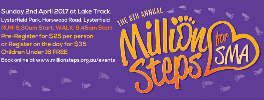Million Steps for SMA 2017