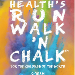 Northern Health's Run Walk 'n Chalk 2017