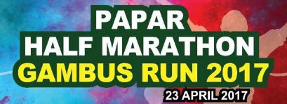Papar Half Marathon Gambus Run 2017
