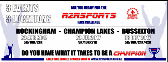 R2R Challenge – Busselton 2017