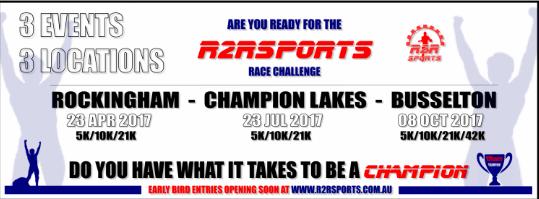 R2R Challenge – Rockingham Half Marathon 2017