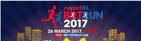 Rapid KL BRT Run 2017