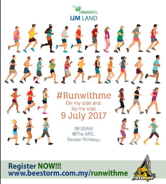 Rimbayu IJM Land – #RUNWITHME 2017